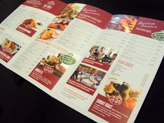 A3 Trifold Menu Printed for Grill at 25 by Minuteman Press (Print Service in Nottingham)