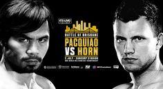 Manny Pacquiao vs Jeff Horn watch livestream