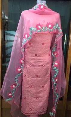Designer Punjabi Suits, Indian Designer Wear, Indian Suits, Indian Attire, Kurta Designs, Blouse Designs, Ethnic Fashion, Indian Fashion, Embroidery Suits Punjabi