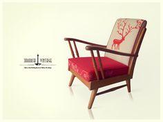 Red Deer. Jakarta Vintage Chair Collection October Arrival