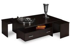 Τραπέζι σαλονιού Double wenge Coffee Tables, Low Tables, Living Room End Tables