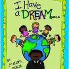 """Free Download! """"I Have a Dream"""" writing prompts.  Pinned by SOS Inc. Resources @sostherapy http://pinterest.com/sostherapy."""