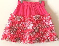 ruffle skirt for girls