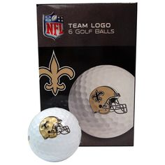 New Orleans Saints Golf Ball Pack of 6