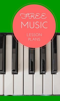 Piano Lessons For Kids Free music lesson plan - a huge list of free music teaching resources ♣ Kindergarten Music, Preschool Music, Music Activities, Movement Activities, Preschool Curriculum, Music Lesson Plans, Free Lesson Plans, Elementary Music Lessons, Piano Lessons