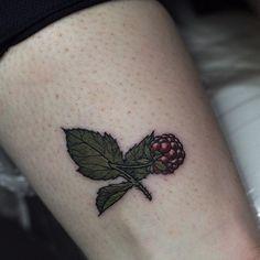 Tiny raspberry arm tattoo by Olga Nekrasova Food Tattoos, Science Tattoos, Ring Tattoos, Arm Tattoo, New Tattoos, Bouquet Tattoo, Black Ink Tattoos, Sister Tattoos, Future Tattoos
