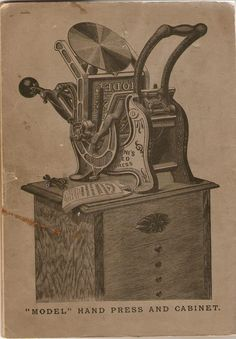 The printing press made it possible to produce texts quickly, cheaply, and in huge quantities.  This quickened the speed of spreading information.