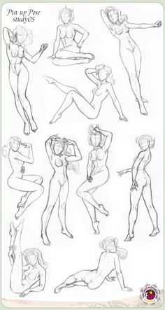 Pin up poses female croquis Body Drawing, Figure Drawing, Drawing Reference, Color Draw, Art Sketches, Art Drawings, Poses References, Drawing Poses, Art Studies