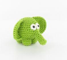 #Winston de groene olifant! Leuk en makkelijk te maken! Nu op #CraftKitchen! http://www.craftkitchen.nl/blog/117/winston-een-vrolijk-groen-olifantje
