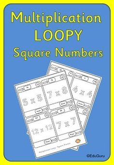 This multiplication loopy is a must for every classroom. What makes it special is the fact that students can do the loopy independently or collaboratively working in pairs or groups. Students can assess their work using the two special numbers that the teacher gives them after completing the loopy.My students love this loopy game!Please rate this product and follow EduGuru for similar products.Remember: Teaching mathematics should be fun!