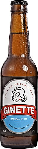 Ginette Beer - Refreshing Organic Beer Beer with my name .....fantastic and delicious