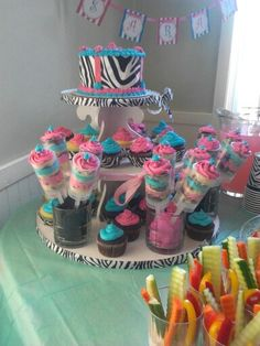 For a girls spa party