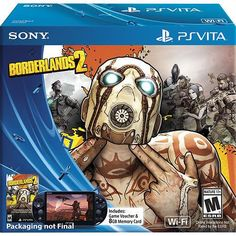 PS VITA Sealed Borderlands 2 - PS Vita Console Bundle - Limited Edition #Sony