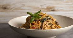 Spaghetti alla Puttanesca in 10 Minutes