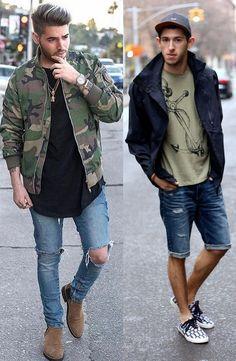 Mens Style HipsterMens summer Fashion