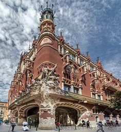 Palau de la Musica Catalana - Barcelona - Spain