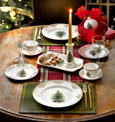 Family traditions begin around the Christmas Tree. Presenting the 2013 additions to the Spode Christmas Tree Collection. #christmas #holiday #entertaining