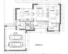 Luc Groosman uploaded this image to 'archifolio'. See the album on Photobucket. Modern Villa Design, Future Buildings, Architectural House Plans, House Furniture Design, House Drawing, Architecture Plan, House Layouts, House Goals, House Floor Plans