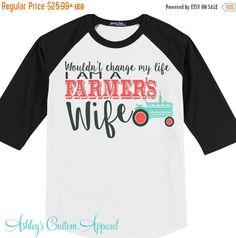 Farmer's Wife - Farm Wife - Farmer - God Made A Farmer - Farm Life - Country…