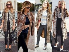 leopard print street style - Google Search