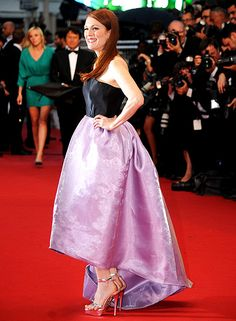 Julianne Moore in Dior at the Cannes film festival