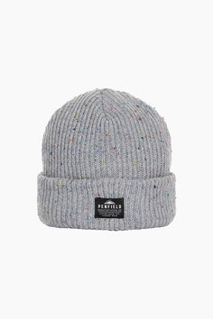 14e9145478f Made from soft acrylic with a multicolor flecked yarn throughout the Harris  is inspired by classic watch beanies and has been finished off with woven  label ...