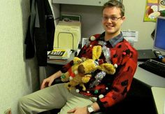 The Ugliest Christmas Sweaters of All Time See more at http://www.ranker.com/list/top-ugly-christmas-sweaters-of-all-time/abbey-grantham