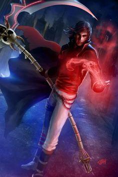 Commission: Darkness Bane by tjota on DeviantArt