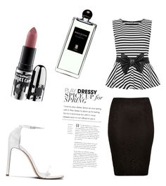 """""""Untitled #11"""" by melina206 ❤ liked on Polyvore featuring WearAll, River Island, Stuart Weitzman, MAC Cosmetics and Serge Lutens"""