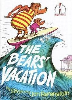 OMG. New idea. Ha! See, told you I'm indecisive, but this one is golden. The classic Berenstain Bears - I have a million of these books from childhood - tearing out the pages and framing some for the wall!!!