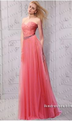 orgeous beaded strapless sweetheart fitted floor length tulle evening dress http://www.ikmdresses.com/gorgeous-beaded-strapless-sweetheart-fitted-floor-length-tulle-evening-dress-p60498