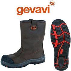 Gevavi Safety GS85 Bruin Veiligheidslaarzen S3 Heren. Klik voor meer informatie. Rubber Rain Boots, Fashion, Moda, Fashion Styles, Fashion Illustrations