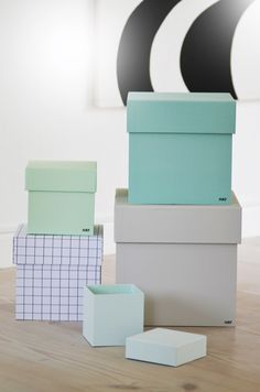 Love these boxes Kid Spaces, Innovation Design, Paper Goods, Storage Organization, Home Interior Design, Interior Inspiration, Kids Room, Product Design, Pastels