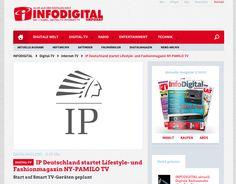 #presse #presseecho #nyptv is #honored also #infodigital reported! www.ny-pamilo.tv http://www.infosat.de/digital-tv/ip-deutschland-startet-lifestyle-und-fashionmagazin-ny-pamilo-tv