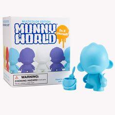 Kidrobot micro RAFFY munnyworld 2.5-inch SINGLE BLIND BOX