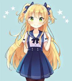 #Dessin fille kawaii par oke_yzw #Manga