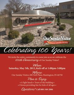 Our Huntington, Indiana, home has been so good to us. We're inviting everyone to join in the celebration at our Open House on May 5!