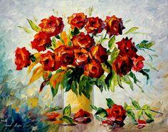 Still Life Painting 044 |  Leonid Afremov