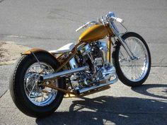 Harley panhead bobber