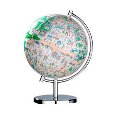 Your city, in this case Berlin, on a globe. Very clever! 19€, on Fab.com