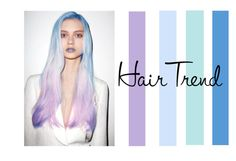 """Blue to Purple"" by ghosthearteddanger ❤ liked on Polyvore featuring beauty, purple, hair, teal, ombre and ombrehair"