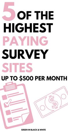 Surveys are a great way to make money on the side when you're feeling the pinch at the end of the month or when you've got a lot on. Read of the Highest Paying Survey Sites On the Net Surveys That Pay Cash, Online Surveys For Money, Survey Sites That Pay, Earn Money Online, Best Money Making Apps, Make Easy Money, Make Money Fast, Cash From Home, Earn Money From Home