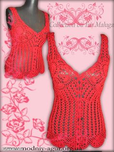 Amazing Crochet Blouses .. Dont miss them