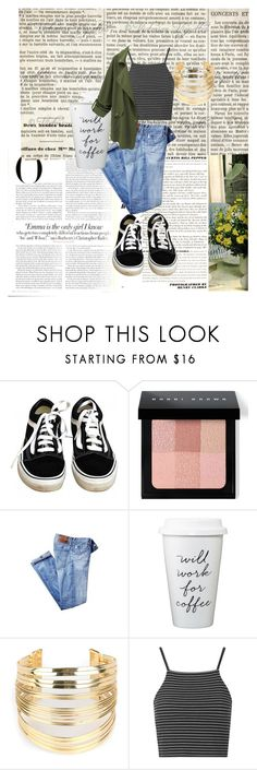 """chilin on a Sunday"" by kirandickey on Polyvore featuring Vanity Fair, Vans, Bobbi Brown Cosmetics, WithChic, Topshop, women's clothing, women, female, woman and misses"