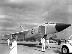 This Day in Aviation History March 1958 First flight of the Avro Canada Arrow. The Avro Canada Arrow was a delta-winged interceptor aircraft designed and built by Avro Canada. Military Jets, Military Aircraft, Fighter Aircraft, Fighter Jets, Ala Delta, Delta Wing, Avro Arrow, Experimental Aircraft, Canadian History