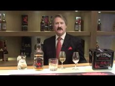 This guy's a character. But you'll learn something about how best to drink whiskey.
