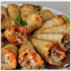 Blätterteig-Pizza-Kegel ~ Idee reminder, *andere Zutaten*