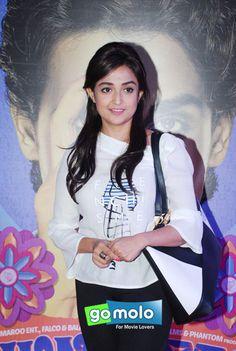 Monali Thakur at the Premiere of Hindi movie 'Hunterrr' at Cinemax Theatre in Mumbai