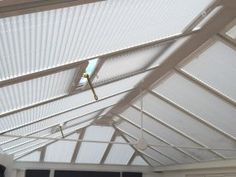 Roof blinds for Beauty Salon in Manchester House Blinds, Blinds For Windows, Conservatory Roof Blinds, Vinyl Mini Blinds, Manchester, Photo Galleries, Beauty, Blinds, Shades For Windows