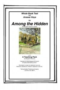 """essay questions for among the hidden About the books imagine living in • among the hidden begins with luke musing: write a short essay explaining why """"shadow"""" is, or is not, the best word."""